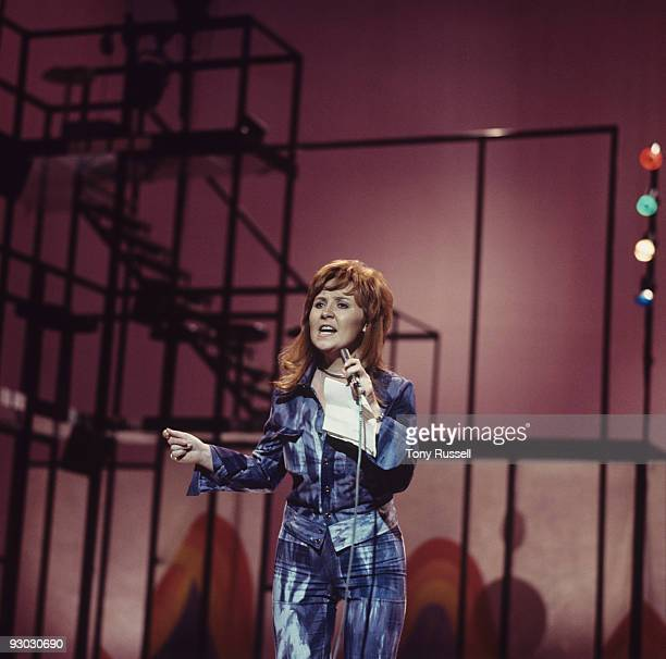Singer Lulu performs on 'Whittaker's World of Music' television show filmed in London England in April 1971