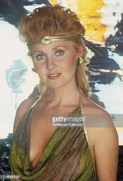 Singer Lulu poses for a portrait in c1985 in Los Angeles California