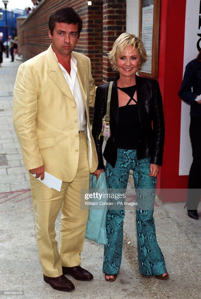 singer lulu with actor angus macfadyen arrive at the film premiere