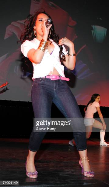 Singer Lumidee performs during the drivein 'Dirty Dancing' screening at the 2007 Tribeca Film Festival on April 26 2007 in New York City