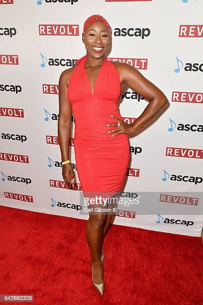 Singer Lundon Knighten attends the 2016 ASCAP Rhythm Soul Awards at the Beverly Wilshire Four Seasons Hotel on June 23 2016 in Beverly Hills...