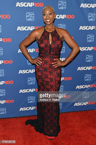 Singer Lundon Knighten attends the 22nd annual ASCAP Latin Music Awards at Hammerstein Ballroom on March 18 2014 in New York City