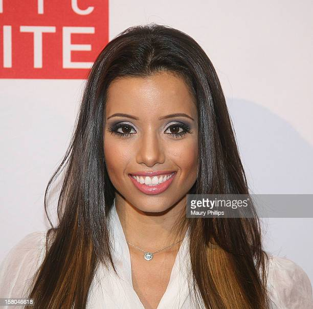 Singer Lupe Fuentes attends Rolling Out Mirror Mirror Awards at Rolling Stone Restaurant Lounge on December 6 2012 in Los Angeles California