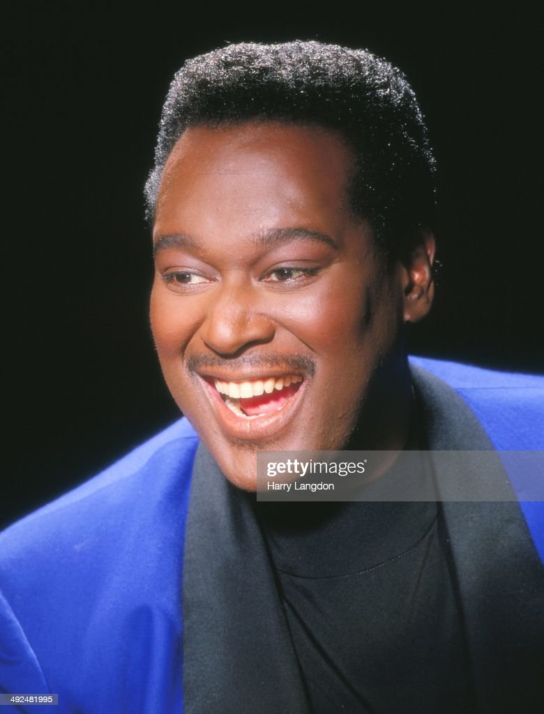 Luther Vandross Portrait Session : News Photo