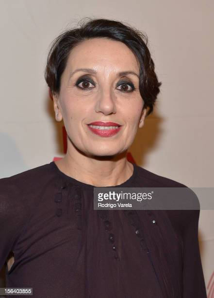 Singer Luz Casal arrives at the 2012 Latin Recording Academy Special Awards during the 13th annual Latin GRAMMY Awards at the Four Seasons Hotel on...