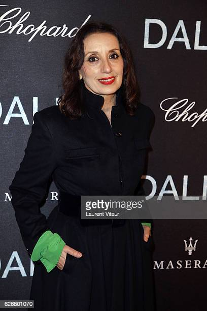 Singer Luz Casal attends 'Dalida' Paris Premiere at L'Olympia on November 30 2016 in Paris France