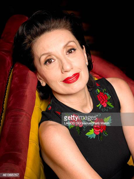 Singer Luz Casal is photographed for Paris Match on November 22 2013 in London England