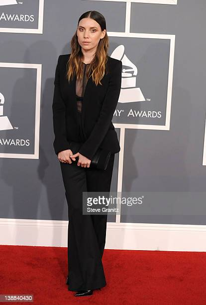 Singer Lykke Li arrives at The 54th Annual GRAMMY Awards at Staples Center on February 12 2012 in Los Angeles California