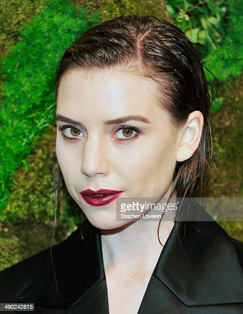 Singer Lykke Li attends Museum Of Modern Art's 2014 Party In The Garden at Museum of Modern Art on May 13 2014 in New York City