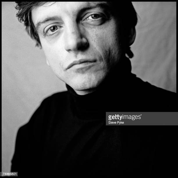 Singer lyricist and sole consistent member of The Fall Mark E Smith Manchester 17th October 1987