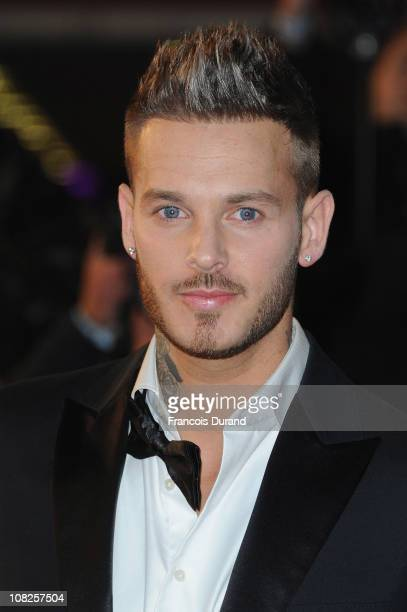 Singer M Pokora attends the NRJ Music Awards 2011 on January 22 2011 at the Palais des Festivals et des Congres in Cannes France