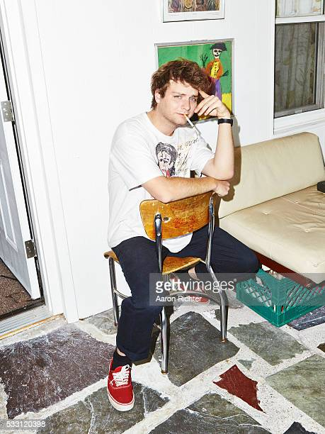 Singer Mac DeMarco is photographed for selftitled Magazine in 2015 in Rockaway New York