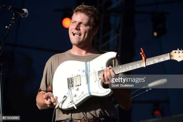 Singer Mac DeMarco performs onstage during FYF Fest on July 23 2017 in Los Angeles California