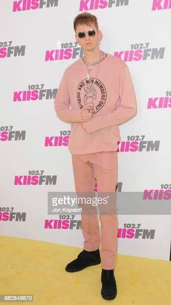 Singer Machine Gun Kelly arrives at 1027 KIIS FM's 2017 Wango Tango at StubHub Center on May 13 2017 in Carson California