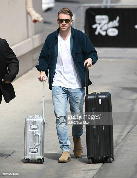 Singer Macklemore is seen on May 18 2016 in Los Angeles CA