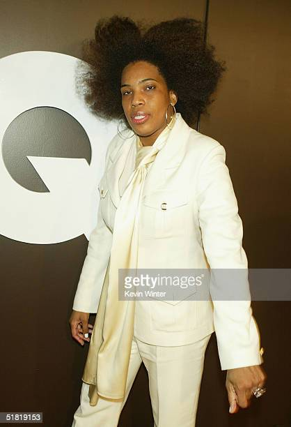 Singer Macy Gray arrives at GQ Magazine's 2004 Men of the Year celebration at Lucques and Ago Resturaunts on December 2 2004 in West Hollywood...