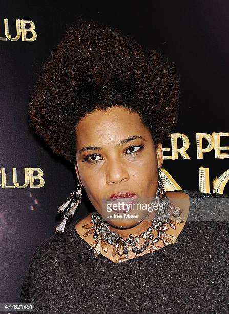 Singer Macy Gray arrives at the Los Angeles premiere of Tyler Perry's 'The Single Moms Club' at the ArcLight Cinemas Cinerama Dome on March 10 2014...