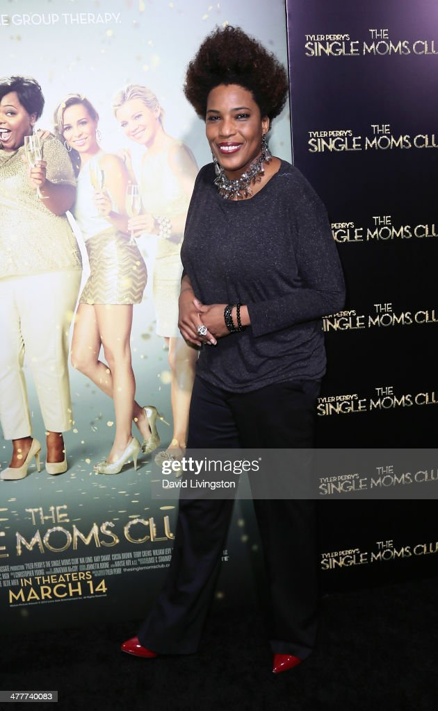 Singer Macy Gray attends the premiere of Tyler Perry's 'The Single Moms Club' at the ArcLight Cinemas Cinerama Dome on March 10, 2014 in Hollywood, California.