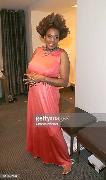 Singer Macy Gray attends Tuesday's Children Annual Gala Honoring Stephen Daldry at The Lighthouse at Chelsea Piers on September 6 2012 in New York...