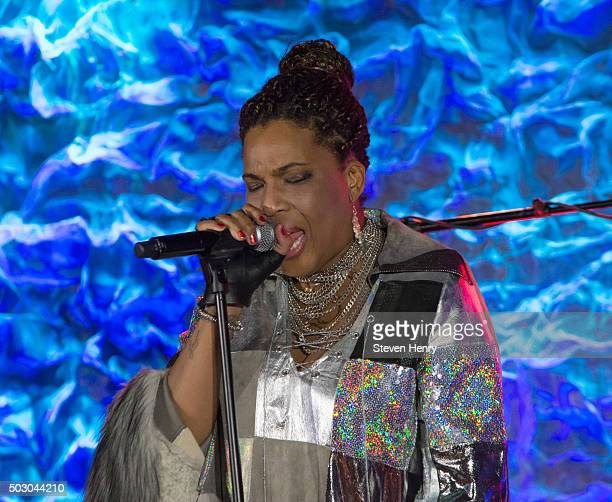 Singer Macy Gray performs at Iridium on December 31 2015 in New York City
