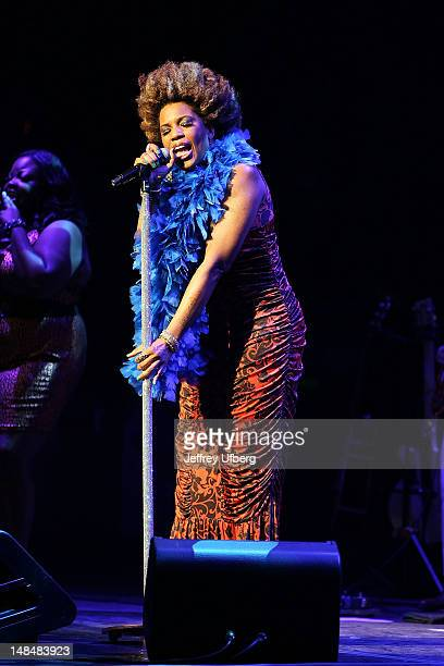 Singer Macy Gray performs at The Beacon Theatre on July 17 2012 in New York City