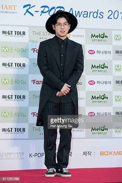 Singer Mad Clown attends the 5th Gaon Chart K-Pop Awards on February 17, 2016 in Seoul, South Korea.
