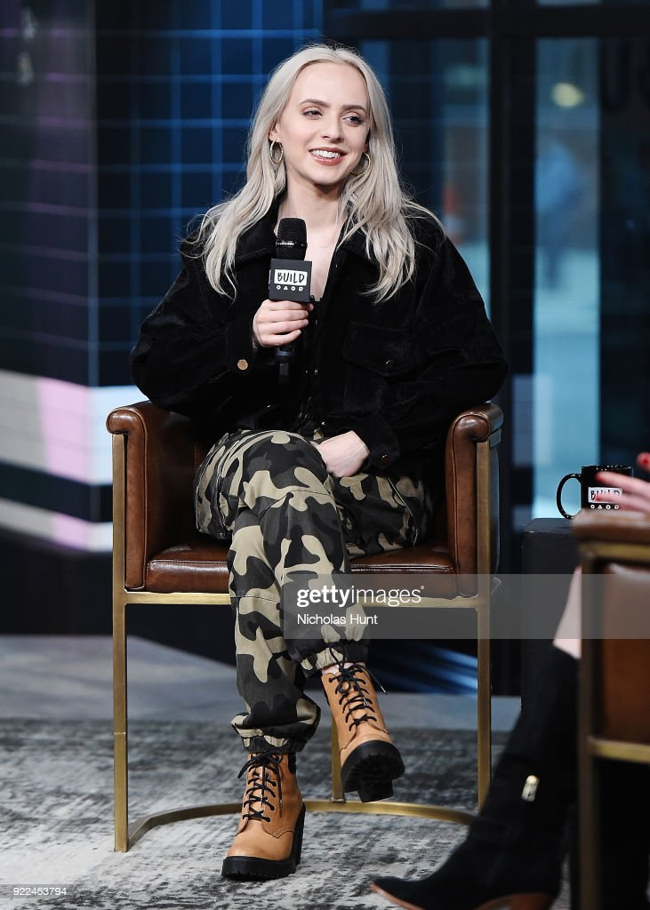 Singer Madilyn Bailey attends Build Series to discuss 'Tetris' at Build Studio on February 21, 2018 in New York City.