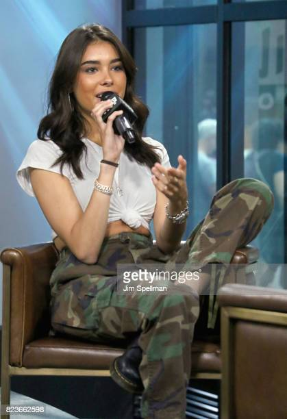 Singer Madison Beer attends Build to discuss her new song 'Dead' at Build Studio on July 27 2017 in New York City