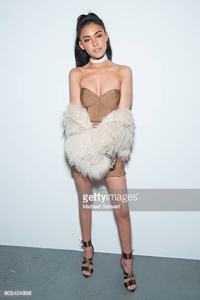 Singer Madison Beer attends the Alice Olivia by Stacey Bendet presentation during September 2016 New York Fashion Week The Shows at The Gallery...