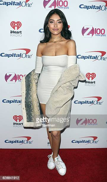 Singer Madison Beer attends Z100's Jingle Ball 2016 at Madison Square Garden on December 9 2016 in New York City