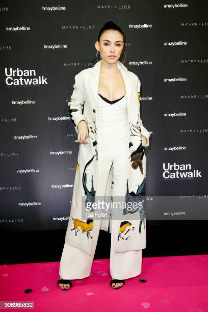 US singer Madison Beer during the Maybelline Show 'Urban Catwalk Faces of New York' at Vollgutlager on January 18 2018 in Berlin Germany