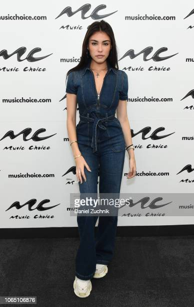 Singer Madison Beer visits at Music Choice on November 08 2018 in New York City