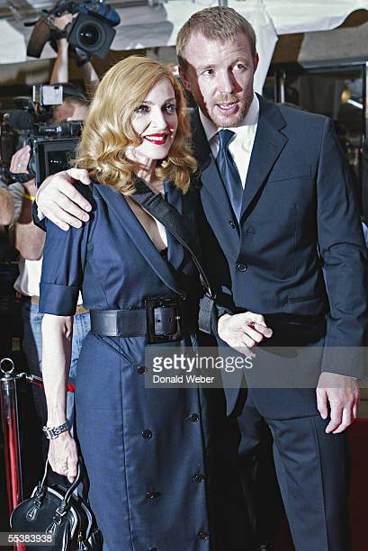 Singer Madonna and director Guy Ritchie attend theToronto International Film Festival gala premiere of 'Revolver' at Roy Thomson Hall September 11...