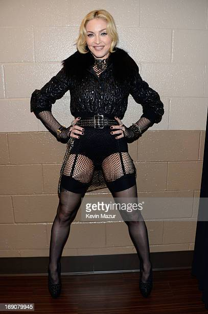 Singer Madonna attends the 2013 Billboard Music Awards at the MGM Grand Garden Arena on May 19 2013 in Las Vegas Nevada