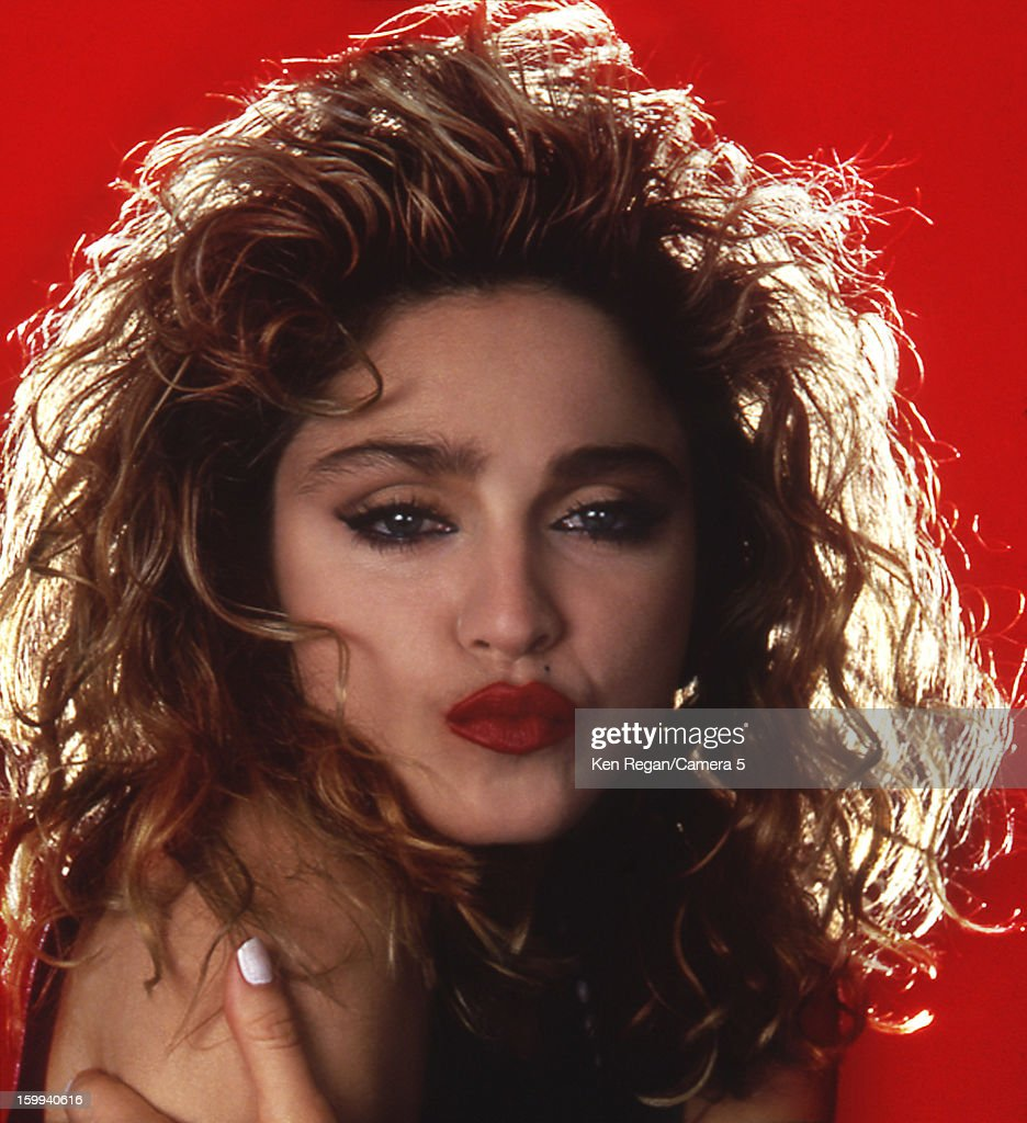 Singer Madonna is photographed for People Magazine in 1985 in New York City. COVER IMAGE.