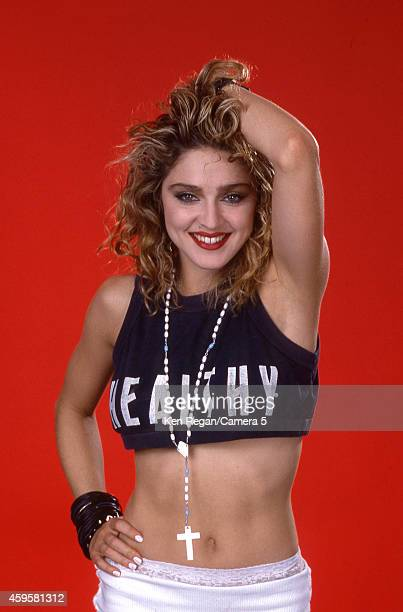 Singer Madonna is photographed for People Magazine in 1985 in New York City CREDIT MUST READ Ken Regan/Camera 5 via Contour by Getty Images