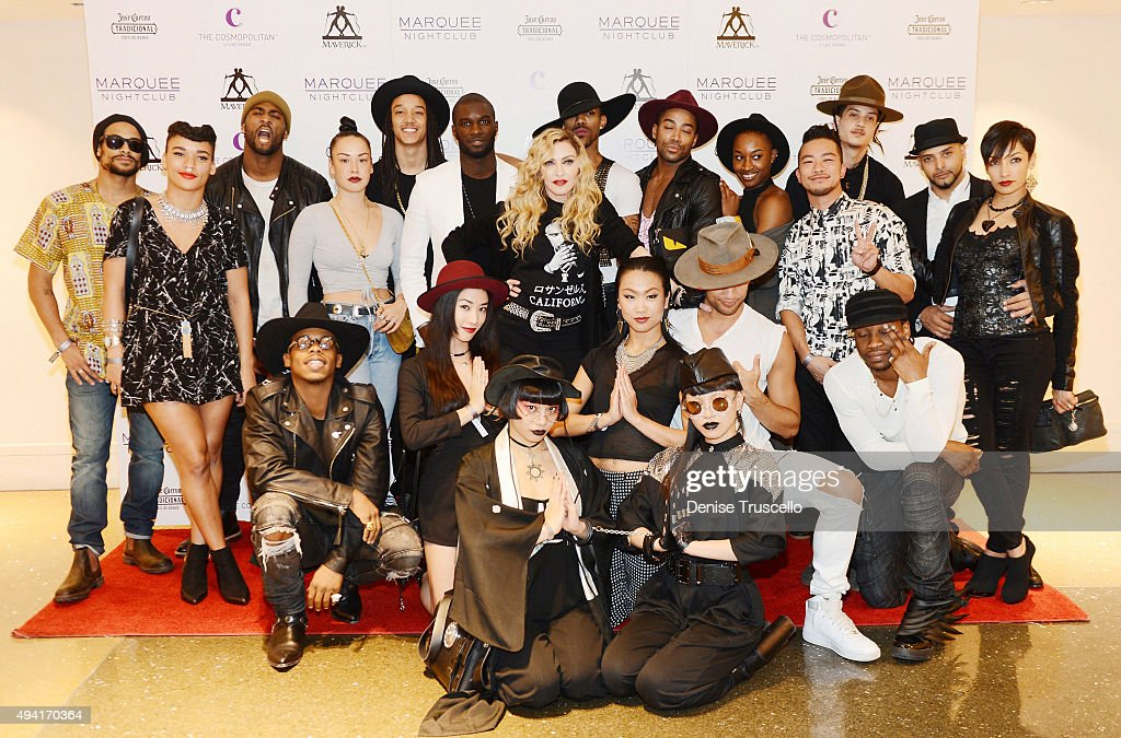 Official Rebel Heart Tour After Party Hosted By Madonna At Marquee Nightclub : News Photo
