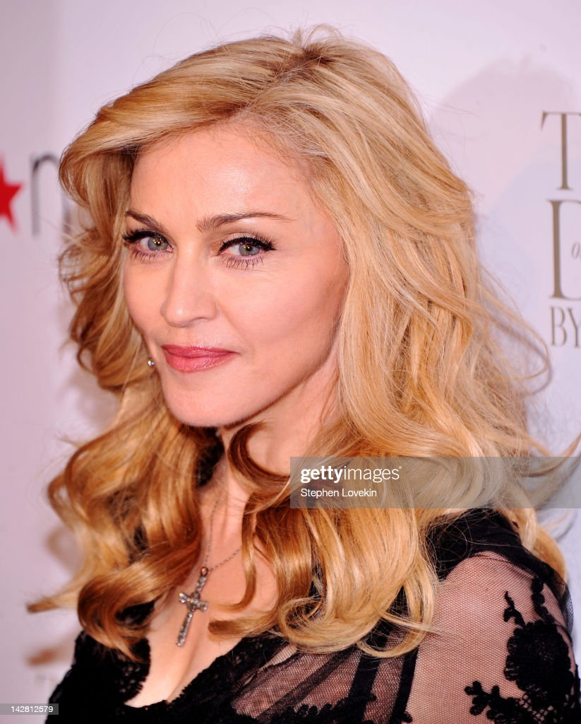 Singer Madonna Launches Her Signature Fragrance 'Truth Or Dare' By Madonna Macy's Herald Square on April 12, 2012 in New York City.
