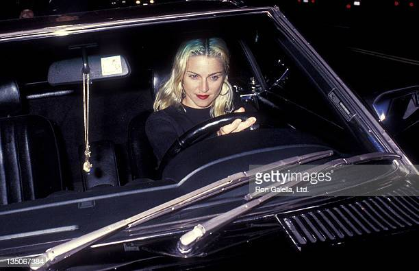 Singer Madonna on April 19 1991 dined at Katsu 3rd in West Hollywood California