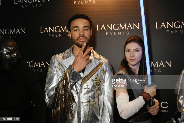 Singer Maejor attends the Star Wars Party at Le Saint Fiacre on December 12 2017 in Paris France
