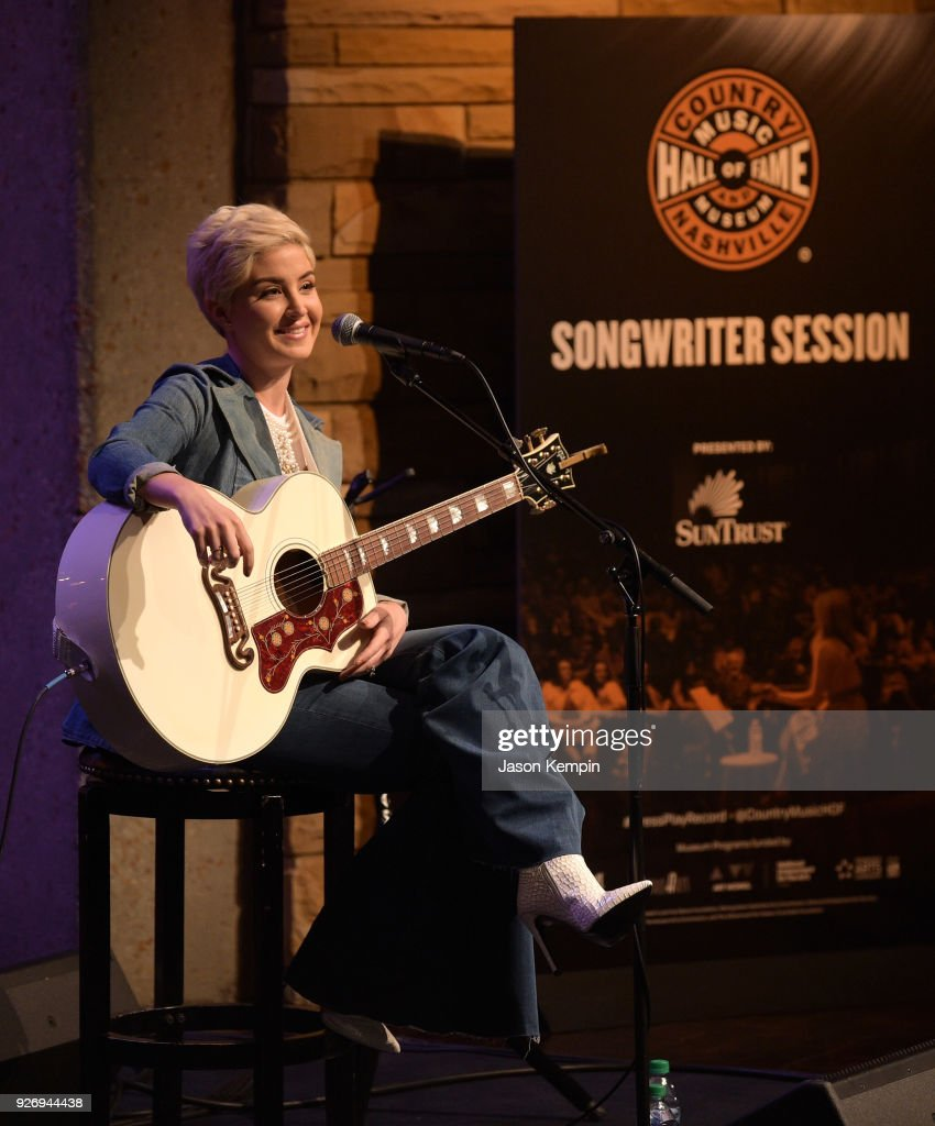 Maggie Rose And Lucie Silvas Perform At Songwriters Sessions