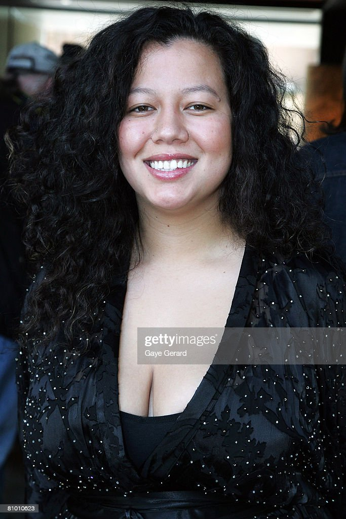 Singer Mahalia Barnes Poses During The Launch Of Jimmy