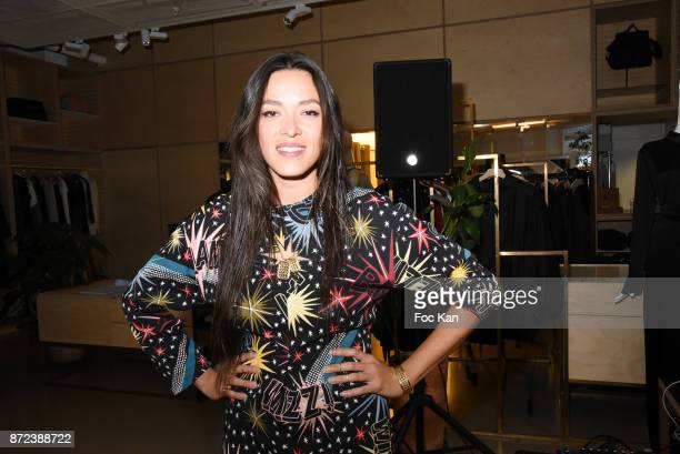 Singer Mai Lan Chapiron attends Stephane Kelian Pop Up Store Launch at L'Exception on November 9 2017 in Paris France