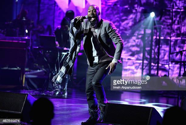Singer Mali Music performs onstage during 16th Annual Super Bowl Gospel Celebration at ASU Gammage on January 30 2015 in Tempe Arizona