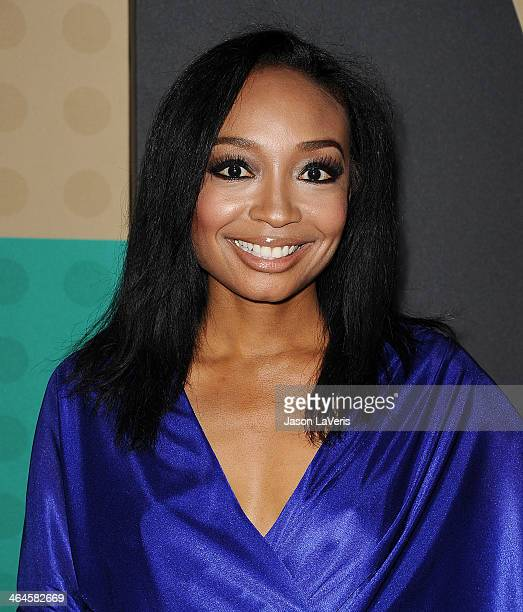 Singer Malina Moye attends the 5th annual Essence Black Women In Music event at 1 OAK on January 22 2014 in West Hollywood California