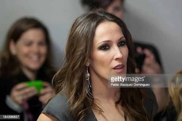 Singer Malu attends 'La Noche de la Cadena 100' at Palacio de los Deportes on March 23 2013 in Madrid Spain