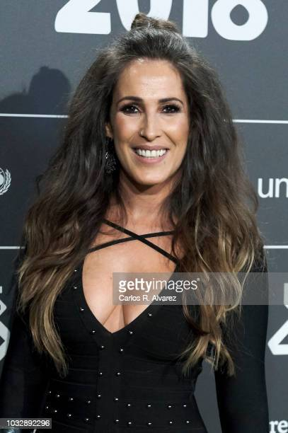 Singer Malu attends the '40 Principales' awards nominated dinner at the Florida Park Club on September 13 2018 in Madrid Spain