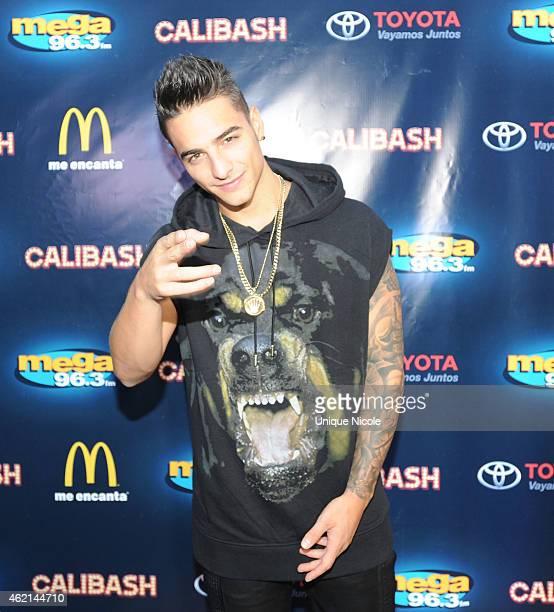 Singer Maluma attends the Mega 963 Calibash at Staples Center on January 24 2015 in Los Angeles California
