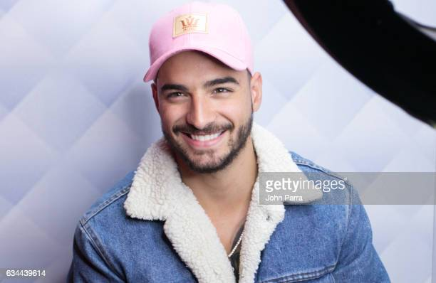 Singer Maluma visits SBS Broadcast Center and La Musica on February 9 2017 in Miami Florida