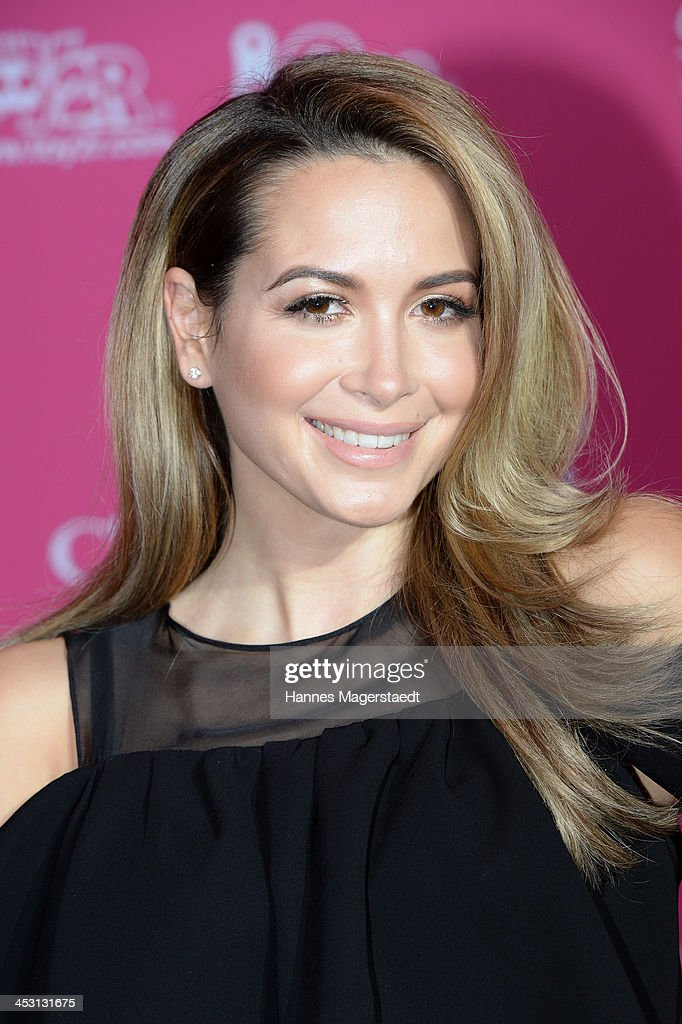 Singer Mandy Capristo attends the Closer Charity Event SMILE at Hotel Vier Jahreszeiten on December 2, 2013 in Munich, Germany.